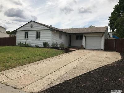 Selden Single Family Home For Sale: 4 Ambassador Ln