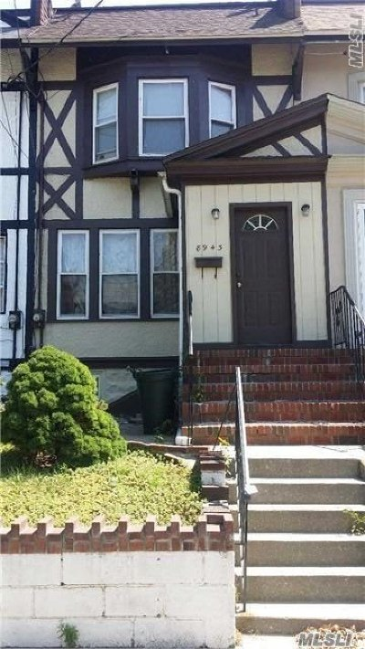 Woodhaven Single Family Home For Sale: 89-43 88 St