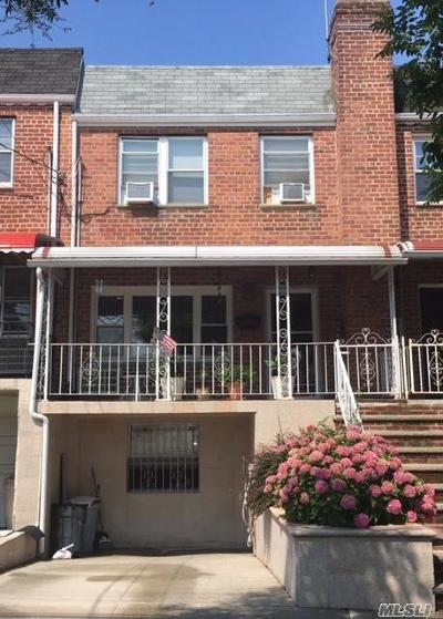 Woodside Single Family Home For Sale: 51-22 72nd Pl