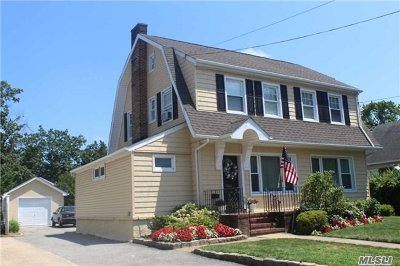 Cedarhurst Single Family Home For Sale: 236 Rockaway Tpke