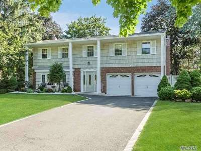 Smithtown Single Family Home For Sale: 124 Plymouth Blvd