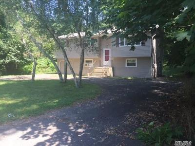 Middle Island Single Family Home For Sale: 11 N Swezeytown Rd