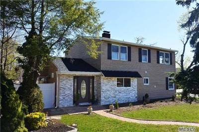 Levittown Single Family Home For Sale: 49 Rainbow Ln