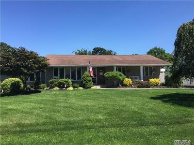Sayville Single Family Home For Sale: 143 Sunset Dr