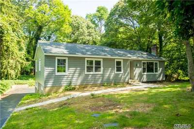 Setauket Single Family Home For Sale: 3 Carriage Ln