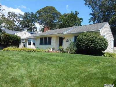 Lake Ronkonkoma Single Family Home For Sale: 9 Carol Dr