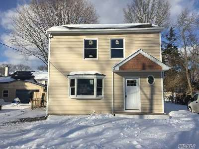 Centereach Single Family Home For Sale: 105 Cedar St