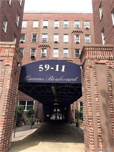 Woodside Co-op For Sale: 59-11 Queens Blvd #4F