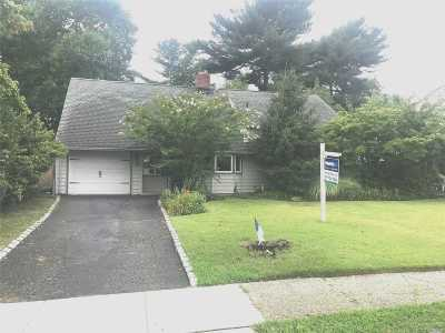Hicksville Single Family Home For Sale: 38 Fireplace Ln