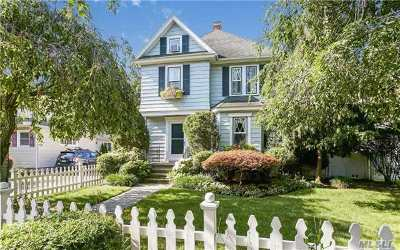 Rockville Centre Single Family Home For Sale: 294 Lakeview Ave