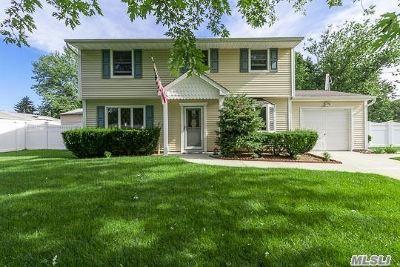 Centereach Single Family Home For Sale: 7 Shamrock Ln