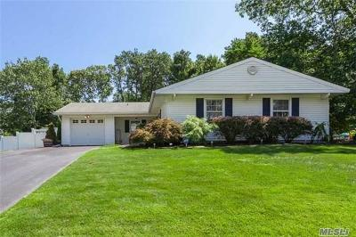 Coram Single Family Home For Sale: 5 Hingle Pl