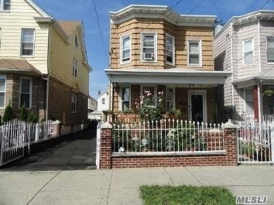 Woodhaven Multi Family Home For Sale: 91-46 80th St