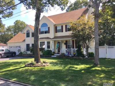 Centereach Single Family Home For Sale: 14 Lynbrook St