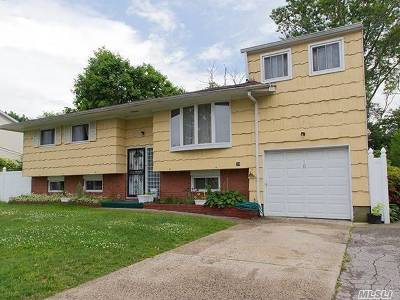 Copiague Single Family Home For Sale: 10 Russell Ct
