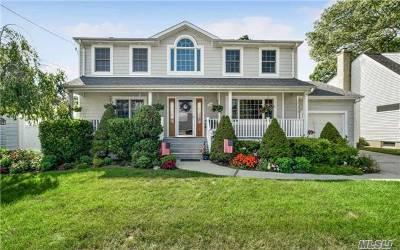 Massapequa Park Single Family Home For Sale: 240 Pacific St