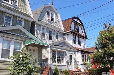 Woodhaven Single Family Home For Sale: 91-16 89 St