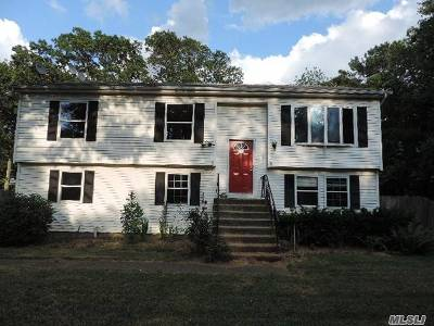 Suffolk County Single Family Home For Sale: 122 Lake Dr