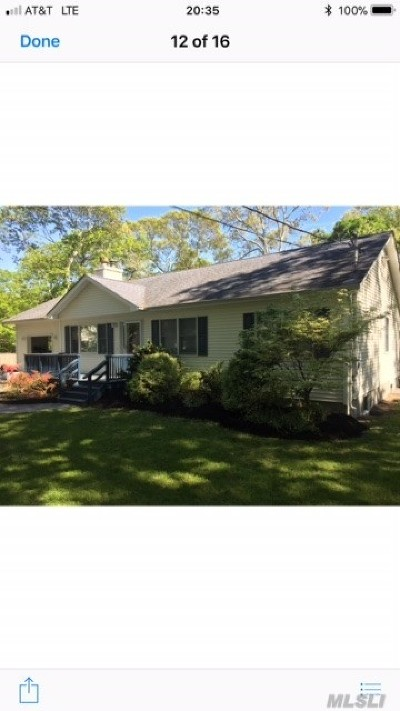 Suffolk County Single Family Home For Sale: 20 Neptune Ave
