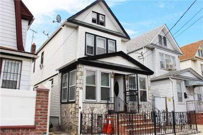 Woodhaven Single Family Home For Sale: 88-46 74 Pl