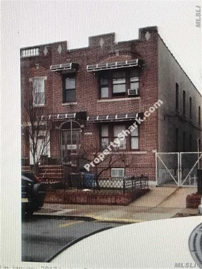 Jackson Heights Multi Family Home For Sale: 35-28 92nd St