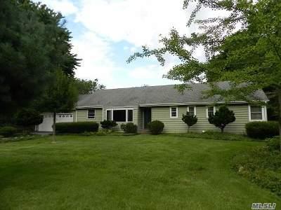 Setauket Single Family Home For Sale: 37 Maple Rd