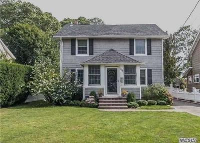 Rockville Centre Single Family Home For Sale: 154 Shellbank Pl