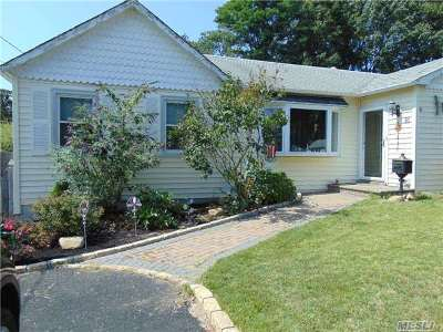 Lake Ronkonkoma Single Family Home For Sale: 16 Carol Dr