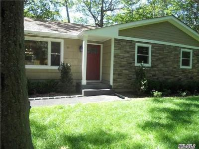 Miller Place Single Family Home For Sale: 10 Valley Cir