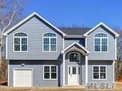 East Moriches Single Family Home For Sale: N/C Culver Ln