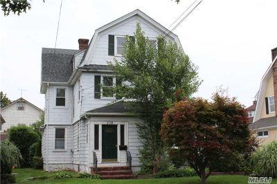Cedarhurst Multi Family Home For Sale: 238 Rockaway Tpke