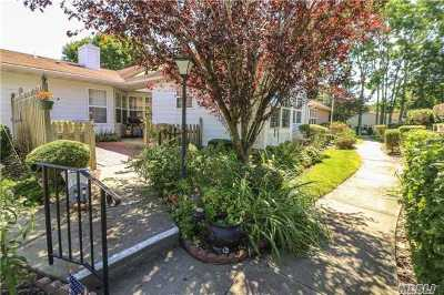 Coram Condo/Townhouse For Sale: 57 Theodore Dr
