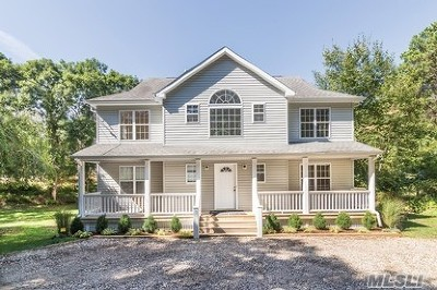 Hampton Bays Single Family Home For Sale: 35 Peconic Rd