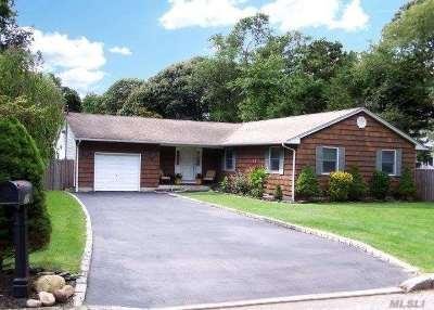 Lake Grove Single Family Home For Sale: 12 Overton Ct