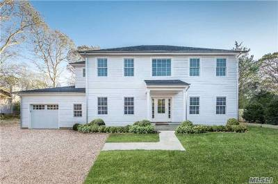 Southampton NY Single Family Home For Sale: $1,695,000