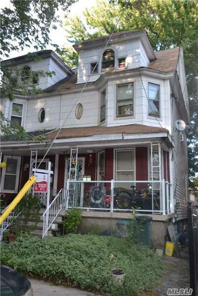 Woodhaven Single Family Home For Sale: 84-39 90th St