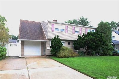 Levittown Single Family Home For Sale: 14 Carriage Ln
