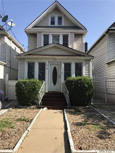 Rego Park Single Family Home For Sale: 61-25 Austin St