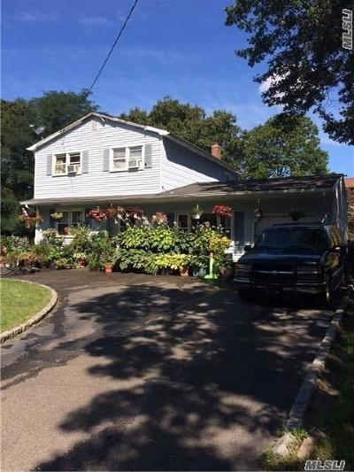 Mastic NY Single Family Home For Sale: $229,000