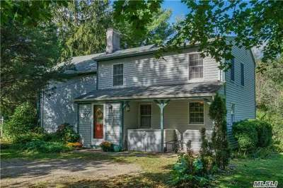 E. Setauket Single Family Home For Sale: 169 Old Town Rd