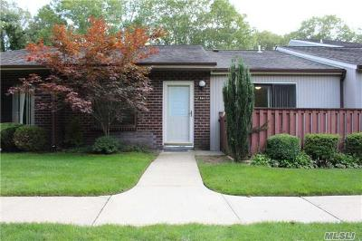 Coram Condo/Townhouse For Sale: 244 Birchwood Rd