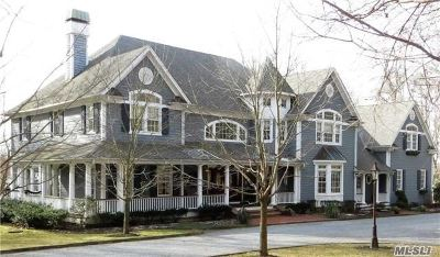 Nissequogue Single Family Home For Sale: 1 Pine Point