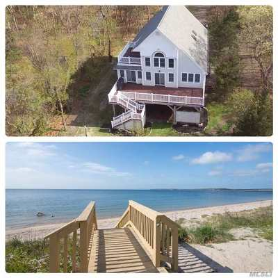 Nissequogue Single Family Home For Sale: 576 E Long Beach Rd