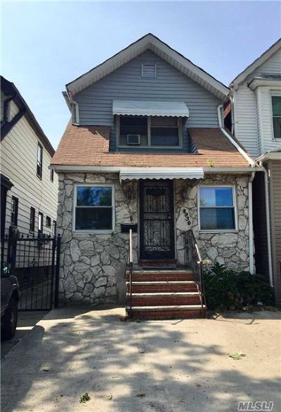 Woodhaven Single Family Home For Sale: 89-30 Woodhaven Blvd