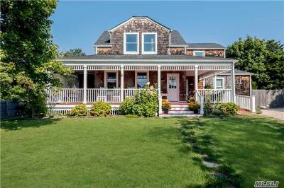 Hampton Bays Single Family Home For Sale: 173 Springville Rd
