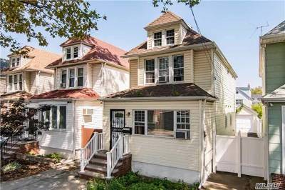 Forest Hills Single Family Home For Sale: 70-29 Olcott St