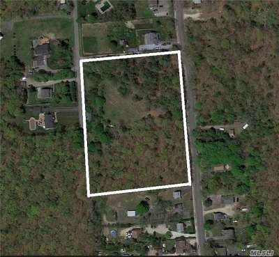 Center Moriches Residential Lots & Land For Sale: 300 Railroad Ave