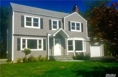 Rockville Centre Single Family Home For Sale: 543 Lakeview Ave