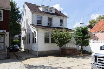 Bayside, Oakland Gardens Single Family Home For Sale: 33-12 208 St