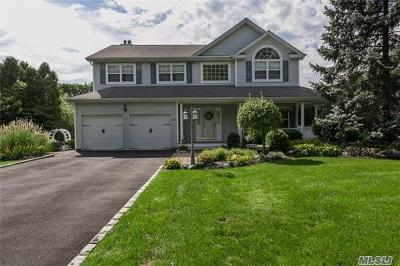 Smithtown Single Family Home For Sale: 17 Whispering Woods Dr